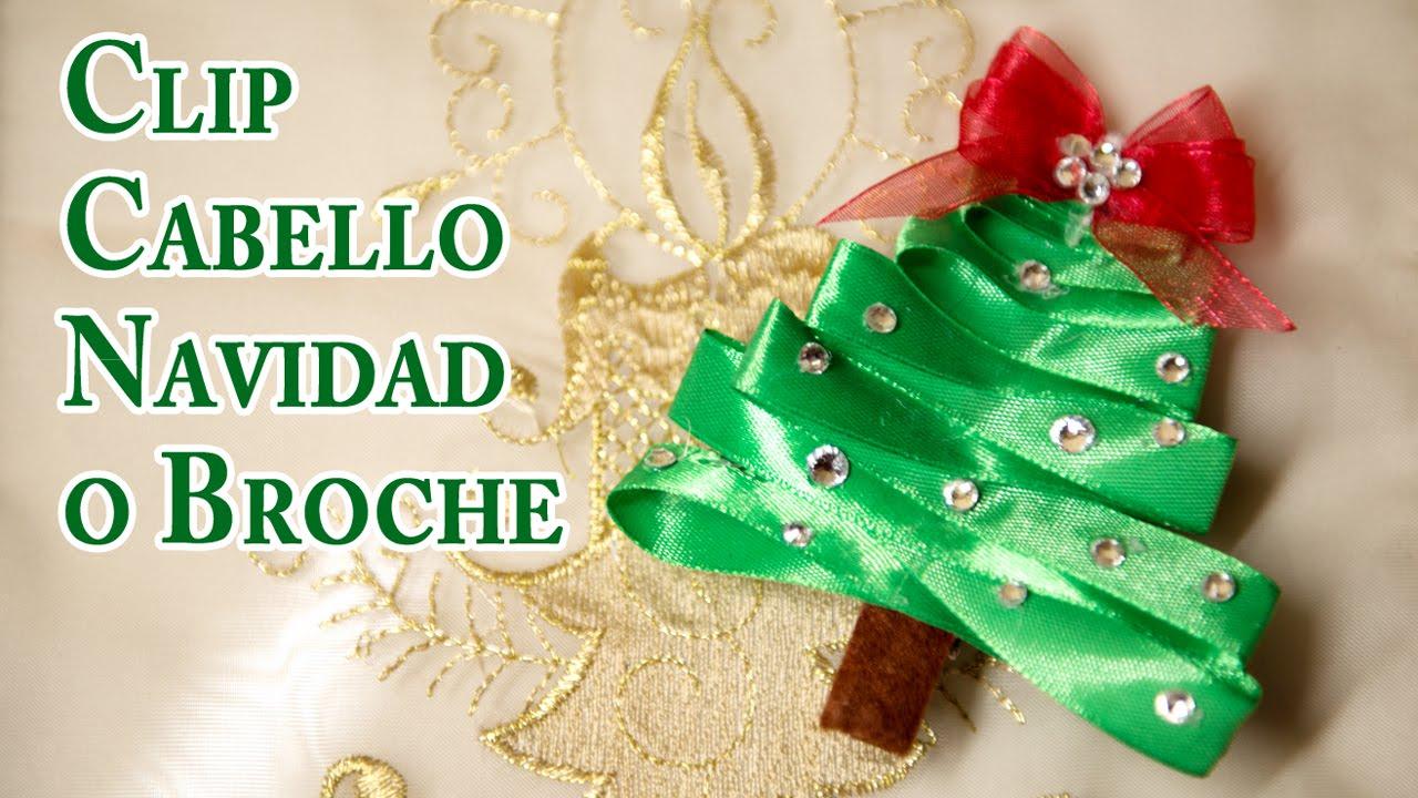Clip de Arbol de Navidad Adorno Cabello - YouTube 23bb3e02539f