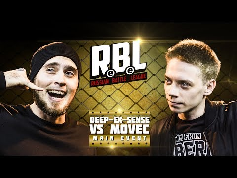 RBL: DEEP-EX-SENSE VS MOVEC (MAIN EVENT, RUSSIAN BATTLE LEAGUE)