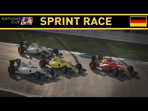 F1 2016 NATIONS CUP PART 2: GERMANY SPRINT RACE