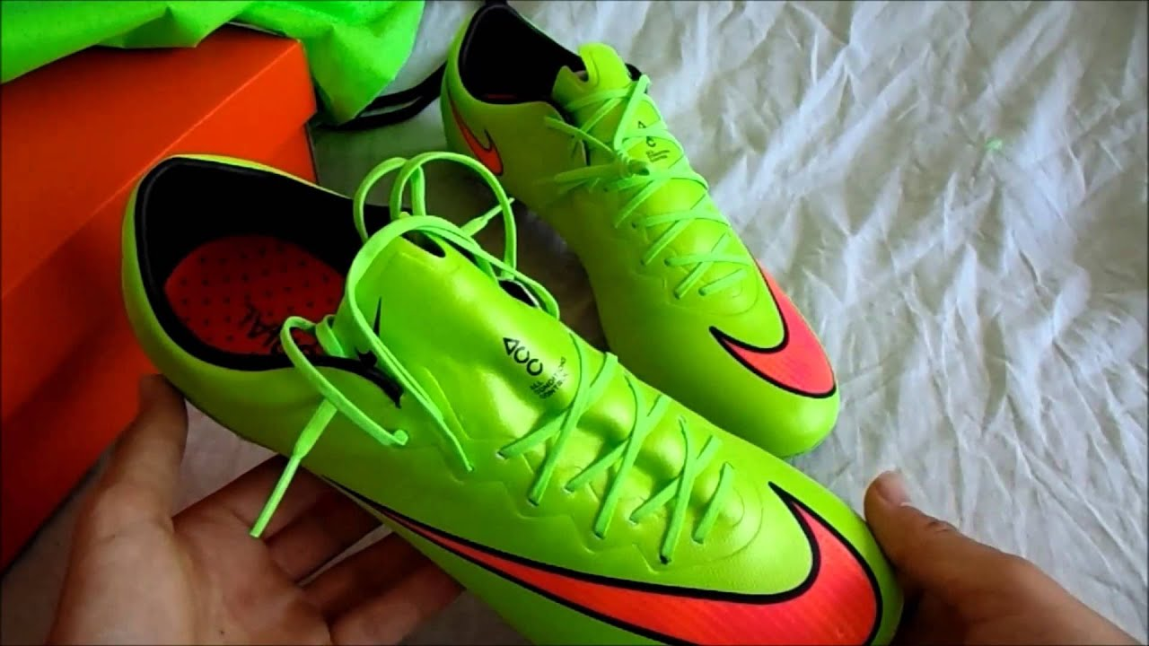 Nike Mercurial Vapor X FG - Unboxing