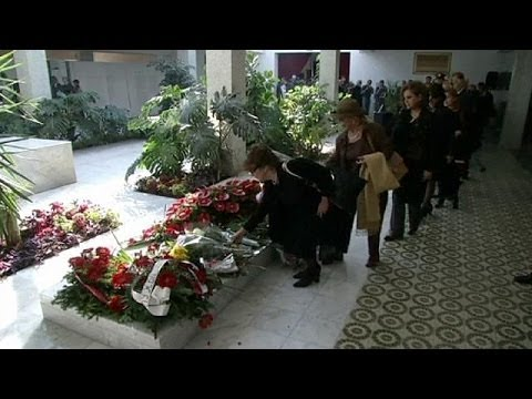 Yugoslavia: former First Lady Jovanka Broz given state funeral