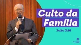 JOÃO 3:16 - Rev. Jonas Zulske - IP Limeira