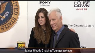 James Woods is Almost 50 Years Older than New Girlfriend!