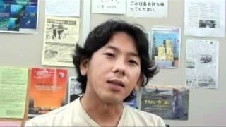 山口響さん(いらない!APEC横浜民衆フォーラム分科会パネラー) thumbnail