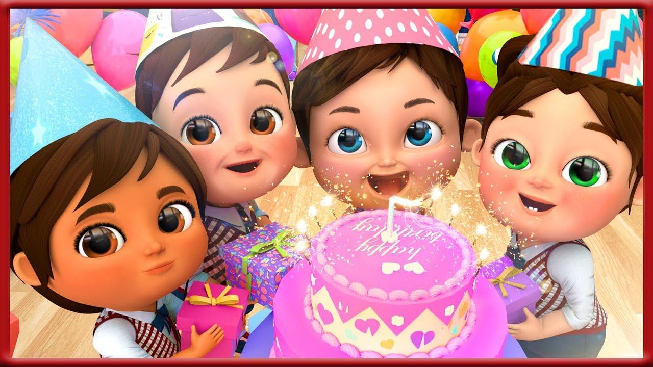 Happy Birthday Song Banana Cartoons Hd Youtube