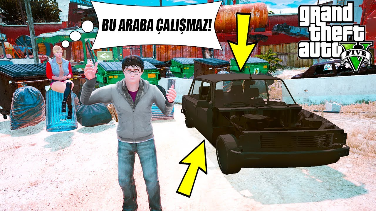 NECMİ MAHALLEDEKİ HURDA SERÇE'Yİ ALIYOR VE TAMİR ETTİRİYOR! - GTA 5