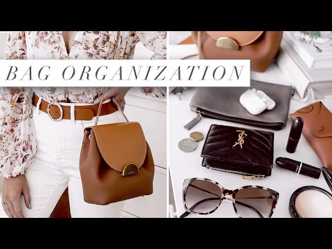 Whats in my bag | Everyday Organization & Essentials - Polène Numéro Un Mini