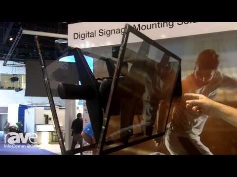 InfoComm 2015: Premier Mounts Shows ECM-3763 Digital Signage Mount