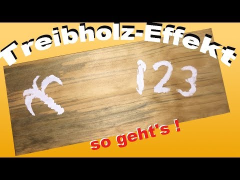 holz k nstlich verwittern lassen der treibholzeffekt so geht 39 s youtube. Black Bedroom Furniture Sets. Home Design Ideas