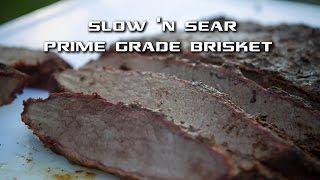 Smoked Prime Grade Brisket on the Slow