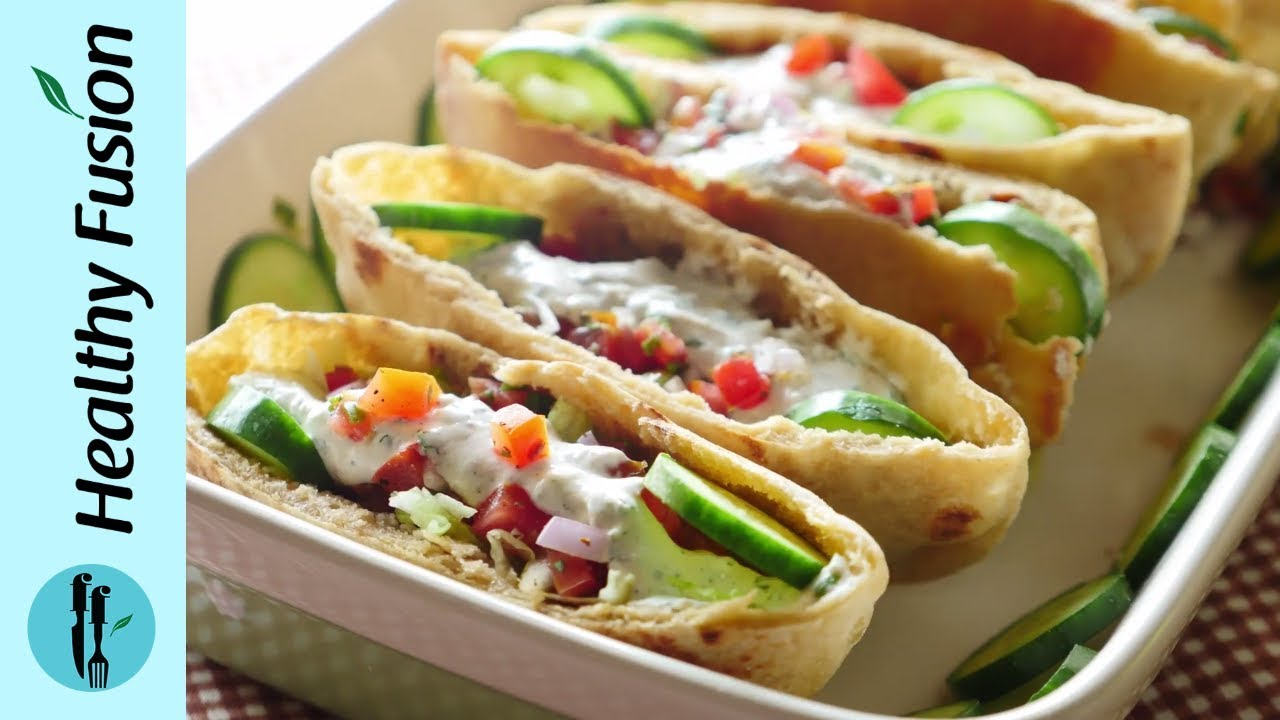 Whole Wheat Pita With Mince Filling Recipe By Healthy Food