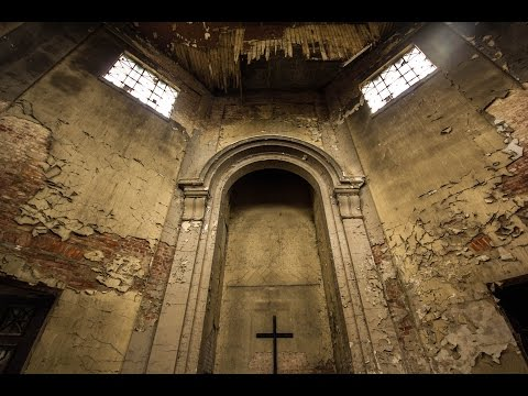 Exploring a  dark abandoned Crematorium