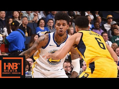 Golden State Warriors vs Indiana Pacers Full Game Highlights / March 27 / 2017-18 NBA Season