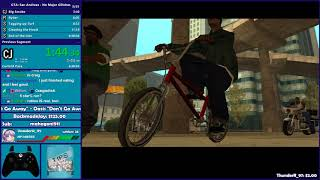 GTA San Andreas No Major Glitches/Dupeless Speedrun Practice - Hugo_One Twitch Stream - 3/7/2018