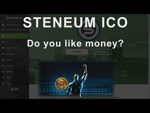 Steneum ICO - HUGE GAINS QUICK - Do you like money?