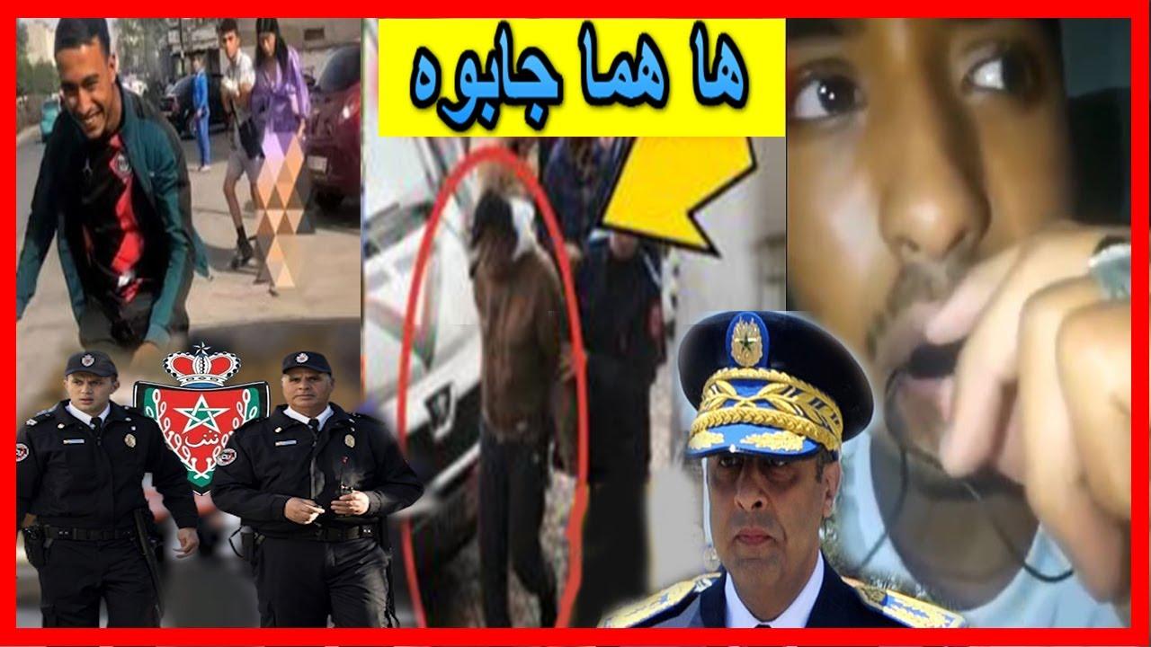 حصريا فهاد اللحظات اعتقال البرهوش لي عرا شابة و ضر بها بطنجة