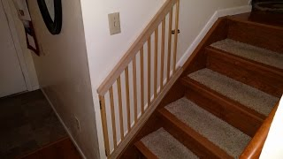 I turn an old crib into a Parallelogram baby gate. And I show you how I did it. I made this because my wife saw the following video