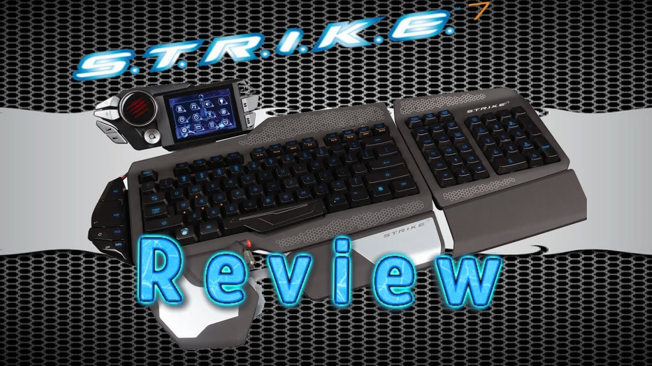 mad catz s t r i k e 7 german review software download firmware 2 0 3 youtube. Black Bedroom Furniture Sets. Home Design Ideas