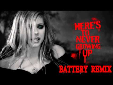 Avril Lavigne - Here's To Never Growing Up Dubstep REMIX