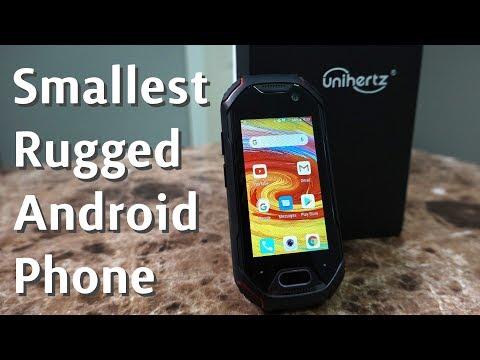 World's Smallest Rugged 4G Android Phone! Unihertz Atom
