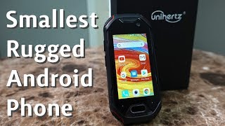 World's Smallest Rugged 4G Android Phone! Unihertz Atom
