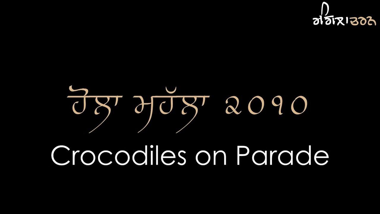 Crocodiles on Parade