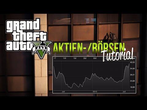 GTA V: Börsen / Aktien TUTORIAL - LCN Exchange | Bawsaq Deutsch/German - GTA5