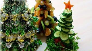 Съедобные елочки на Новогодний стол
