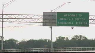 Community members react after NAS Pensacola shooting