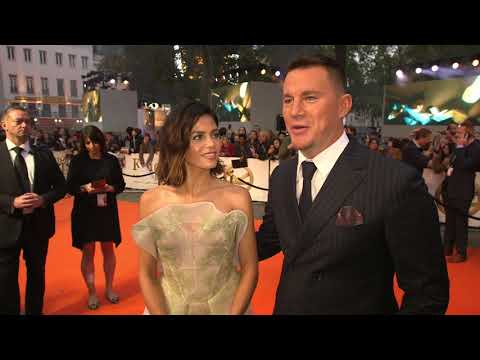 Kingsman The Golden Circle UK World Premiere : Itw Channing Tatum (Agent Tequila) (official video)