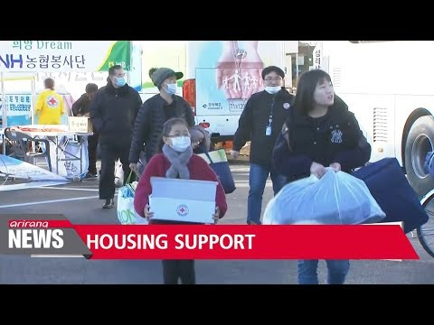 Korean government to provide housing support for quake-affected people
