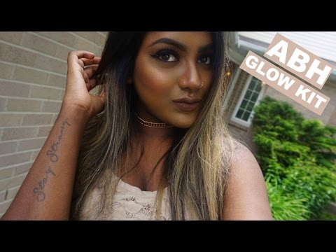 NEW ANASTASIA BEVERLY HILLS SUN DIPPED GLOW KIT | First Impression + DEMO