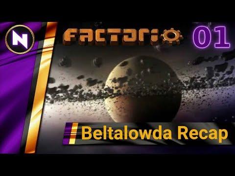 Factorio Beltalowda Recap #1 INTRODUCING THE SERIES