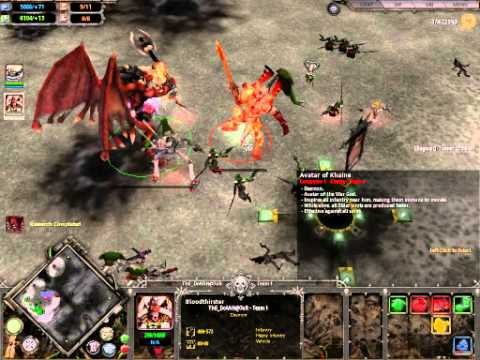 BloodThirster vs Avatar Of Khaine Sync kill