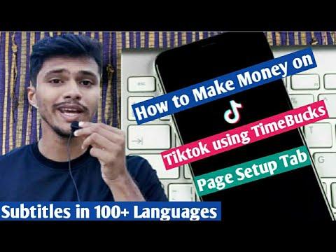 How To Make Money On TikTok With TimeBucks [Part-1] | TimeBucks TikTok Task