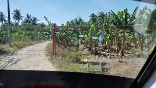 Driving to The Family Farm in Hagonoy, Philippines. Video 2. (Scenic Country Roads) (1/7/2019)