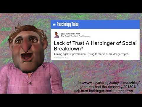 Lack of Trust A Harbinger of Social Breakdown? Louis Putterman Ph.D. Psychology Today