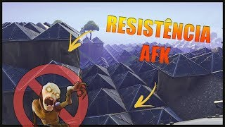 RESISTANCE GLITCH 30 WAVES AFK-FORTNITE SAVE THE WORLD