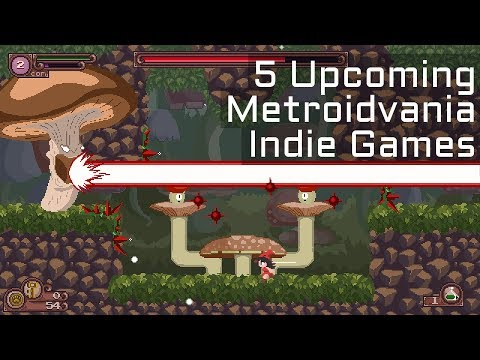 Top 5 Upcoming Castlevania Inspired / Metroidvania Indie Games in 2018 - Part 1