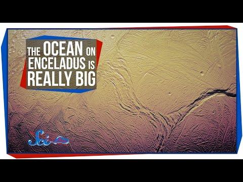 The Ocean on Enceladus is Really Big