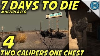 "7 Days to Die -Ep. 4- ""Two Calipers One Chest"" -Multiplayer w/GameEdged Let's Play- Alpha 14"