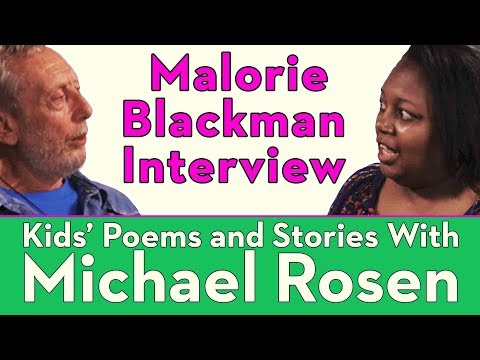 Malorie Blackman - How to Write - Kids' Poems and Stories With Michael Rosen