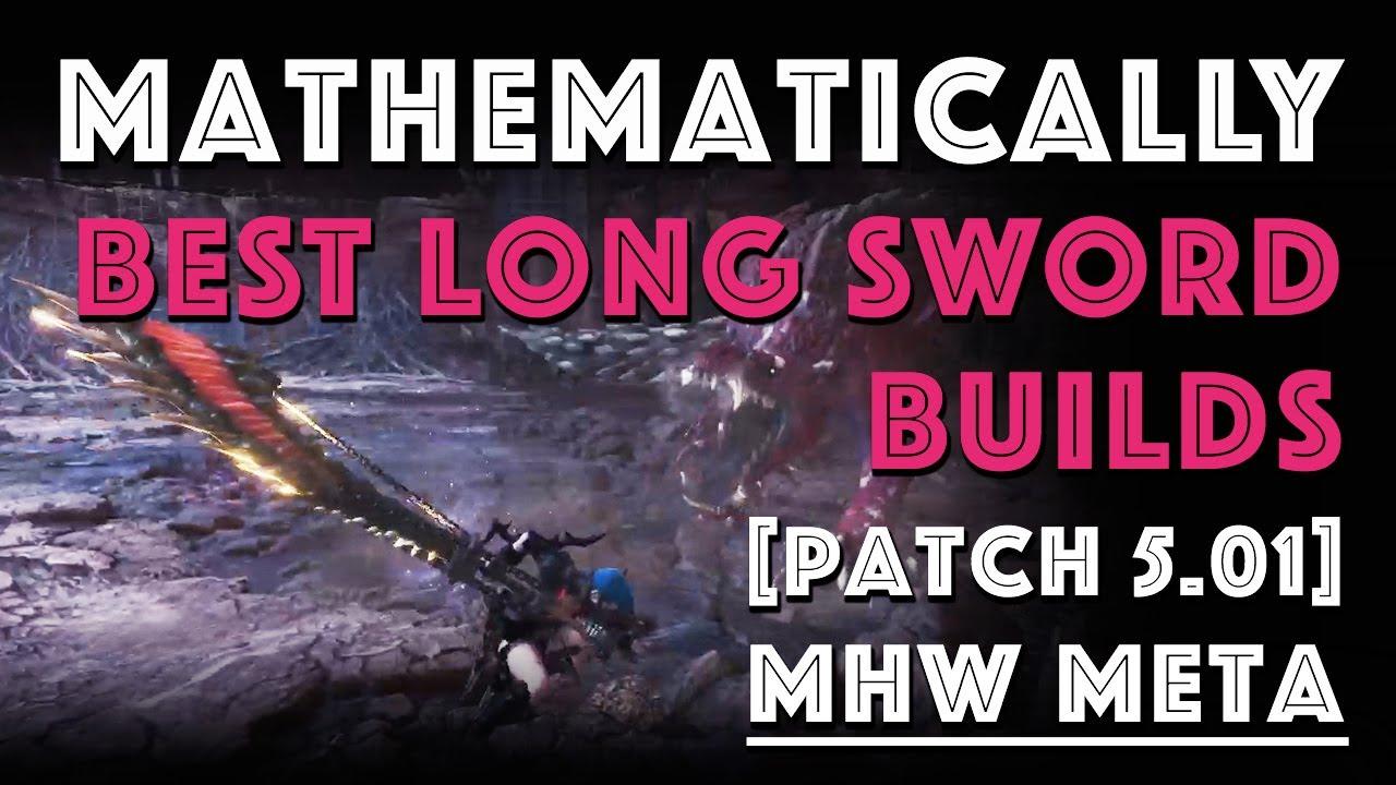 Monster Hunter: World Long Sword Guide And Meta Builds - Honey