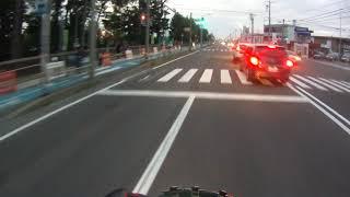 2018年08月13日18時23分 北海道警察 釧路方面本部 十勝機動警察隊前を走行