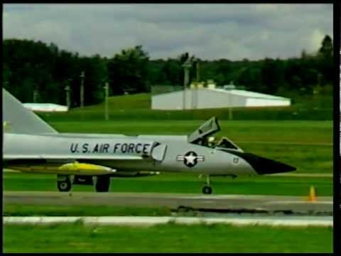 F-106 Landing & Taxi - Griffiss AFB - 6Sept86