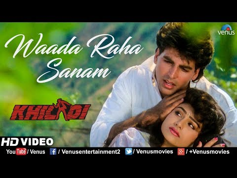 Waada Raha Sanam - HD VIDEO | Akshay Kumar & Ayesha Jhulka | Khiladi | 90's Bollywood Romantic Song