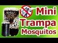 Mini trampa casera para mosquitos y zancudos Cómo hacer