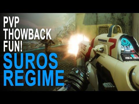 Suros Regime Exotic Auto Rifle Pvp Throwback Fun - Destiny 2 thumbnail