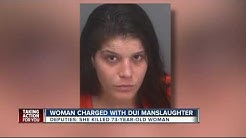 Woman charged with DUI manslaughter