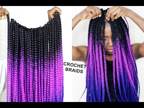 CROCHET BRAIDS ON NATURAL HAIR